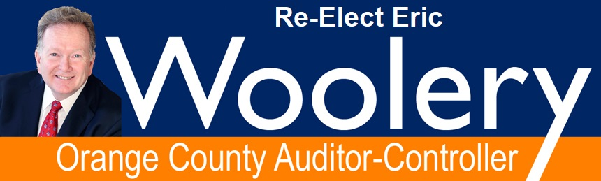 Re-Elect Eric Woolery, CPA - Orange County Auditor-Controller